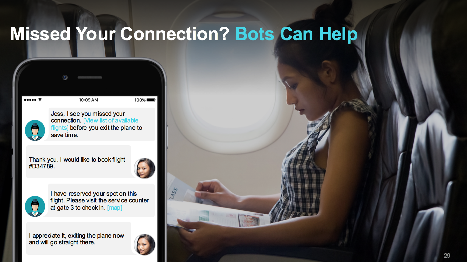 Bots for travel