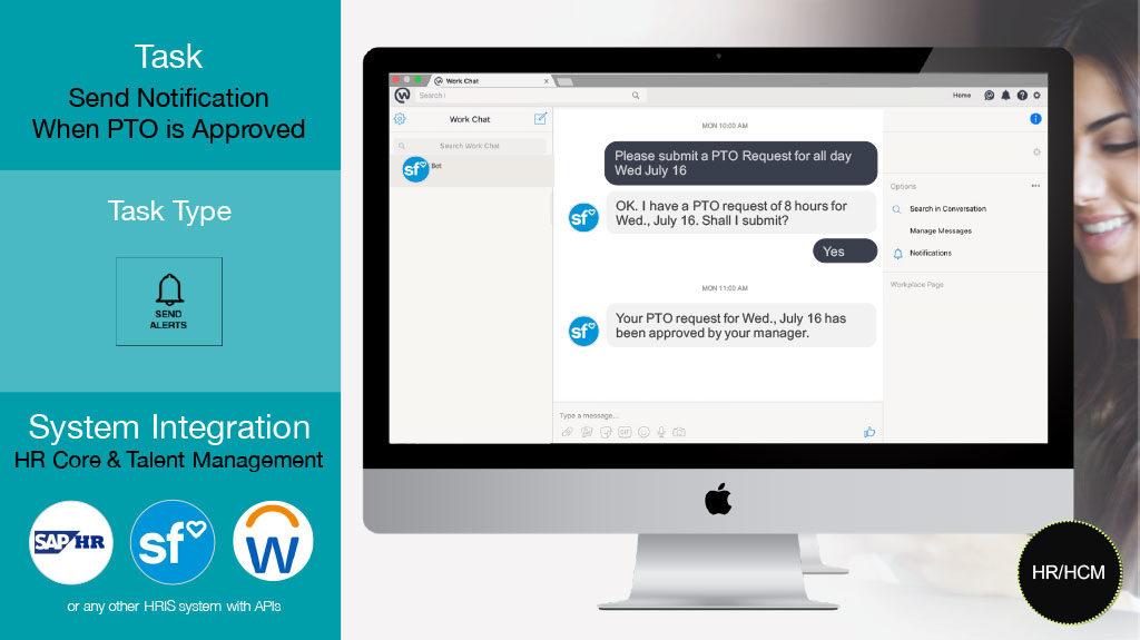 HR chatbots handle PTO requests