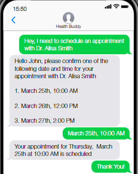 Scheduling Virtual and Physical Appointments