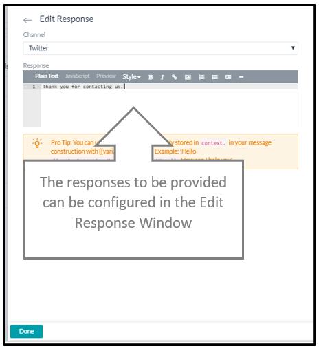 edit response