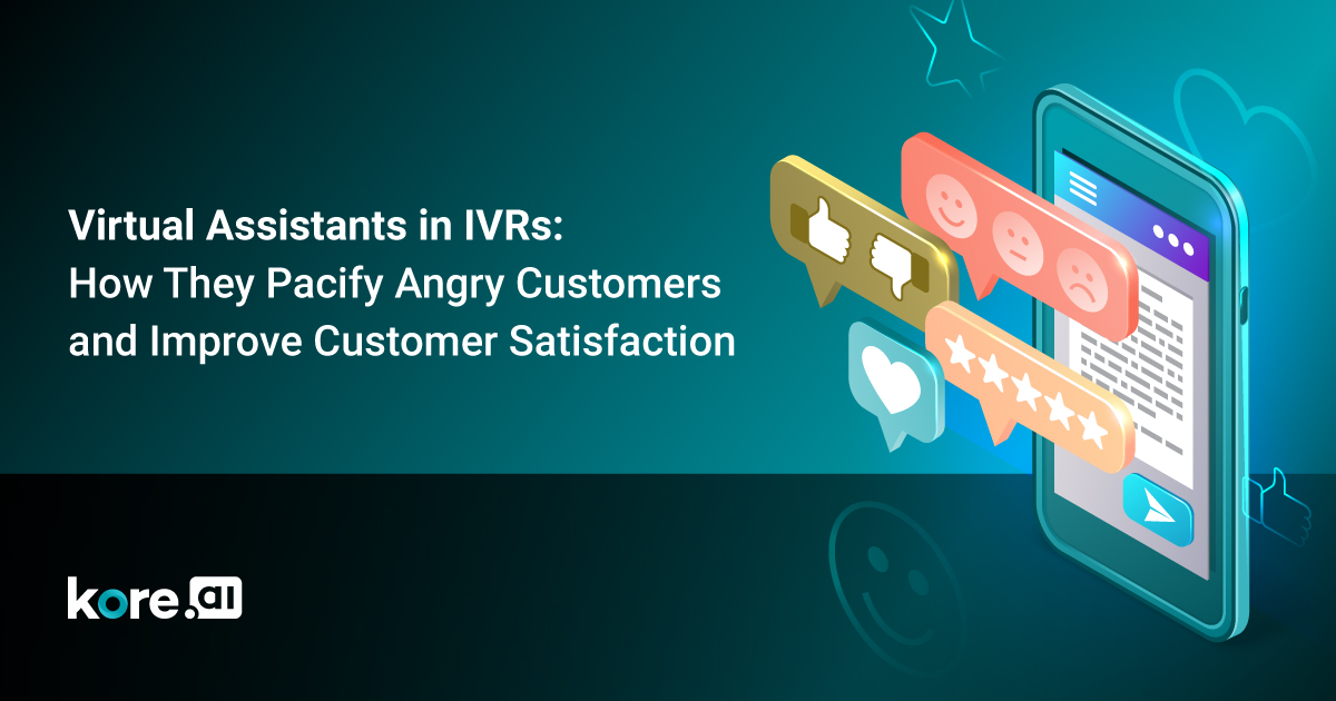 Conversational IVR virtual assistants