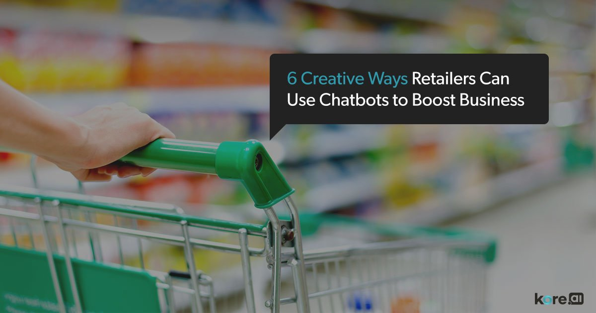 chatbots for retail and ecommerce
